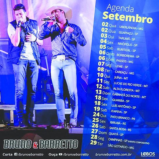 Bruno e Barreto, o novo grande sucesso sertanejo